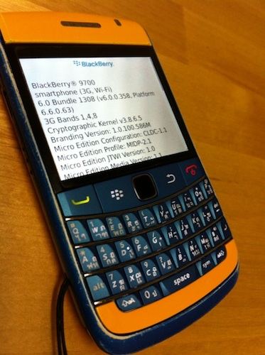 BB Review :: Bold9700 OS 6 ภายใน 9 นาที » IAUMReview